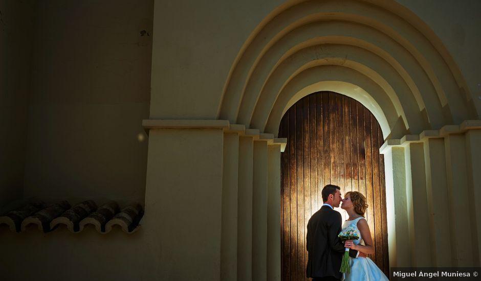La boda de Gullermo y Sheila en Alfajarin, Zaragoza