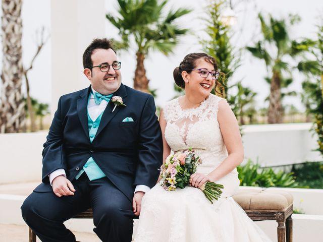 La boda de Alberto y Melani en Vila-real/villarreal, Castellón 1