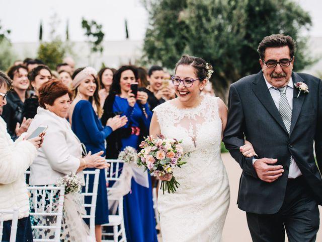 La boda de Alberto y Melani en Vila-real/villarreal, Castellón 15