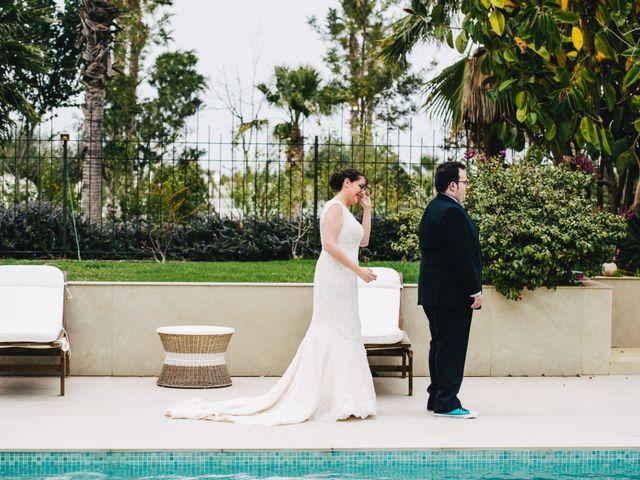 La boda de Alberto y Melani en Vila-real/villarreal, Castellón 19