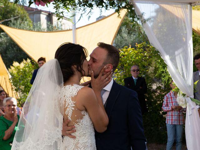 La boda de Pablo y Angela en Santa Amalia, Badajoz 36