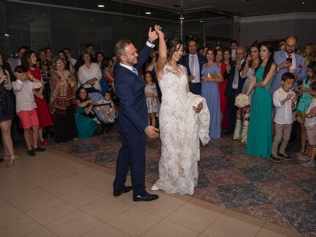 La boda de Pablo y Angela en Santa Amalia, Badajoz 50