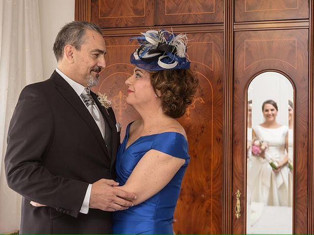 La boda de Pedro y Anabel en Sax, Alicante 1