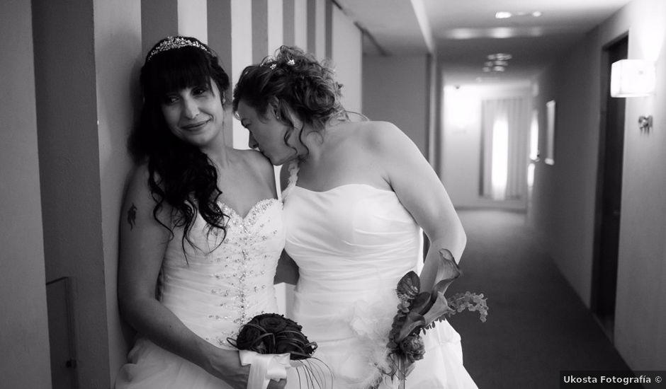 La boda de Patricia y Irune en Bilbao, Vizcaya