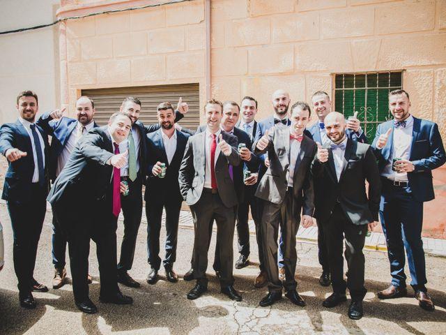 La boda de Santiago y Pilar en Bolaños De Calatrava, Ciudad Real 8