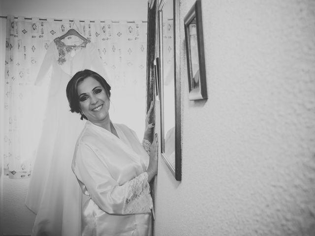 La boda de Santiago y Pilar en Bolaños De Calatrava, Ciudad Real 13