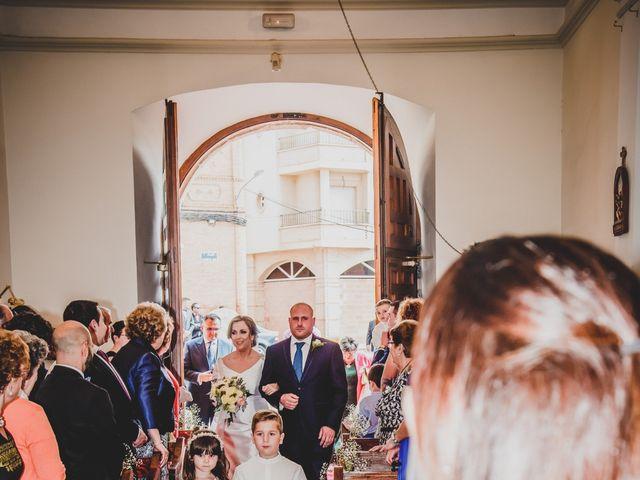 La boda de Santiago y Pilar en Bolaños De Calatrava, Ciudad Real 18
