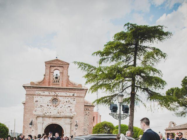 La boda de Santiago y Pilar en Bolaños De Calatrava, Ciudad Real 25