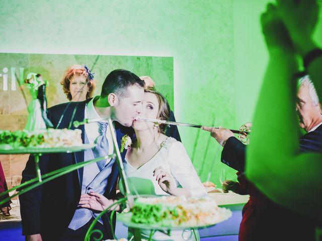 La boda de Santiago y Pilar en Bolaños De Calatrava, Ciudad Real 34