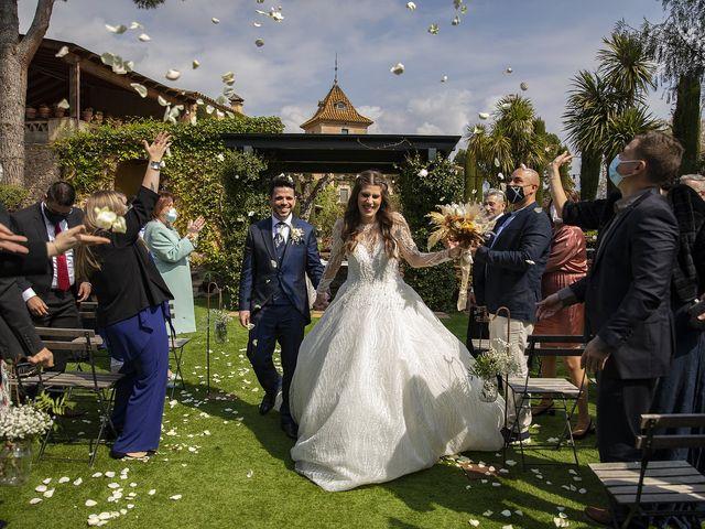 La boda de Erica y Ruben en Bigues, Barcelona 37