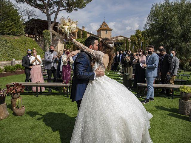 La boda de Erica y Ruben en Bigues, Barcelona 38