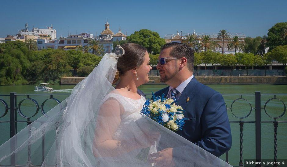 La boda de Jesús y Elena en Sevilla, Sevilla