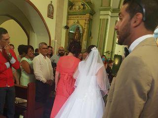 La boda de Érica  y Aridane 1