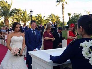 La boda de Lourdes y Rafa