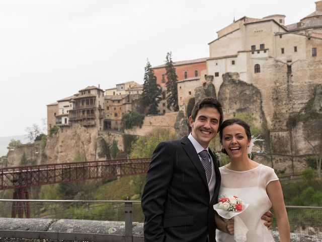 La boda de Álvaro y Irene en Cuenca, Cuenca 45
