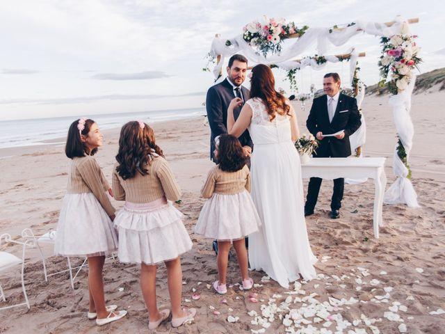La boda de Román y María José en Mareny Blau, Valencia 10
