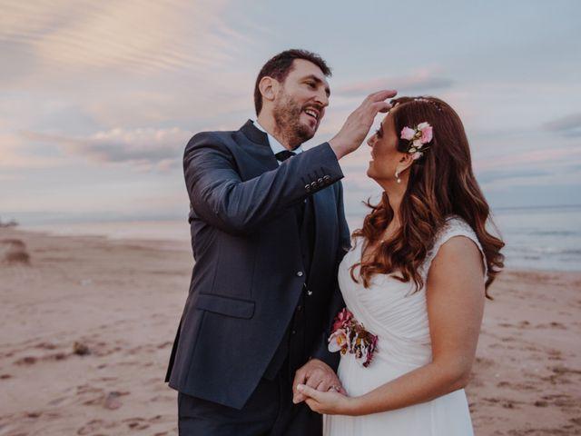 La boda de Román y María José en Mareny Blau, Valencia 20