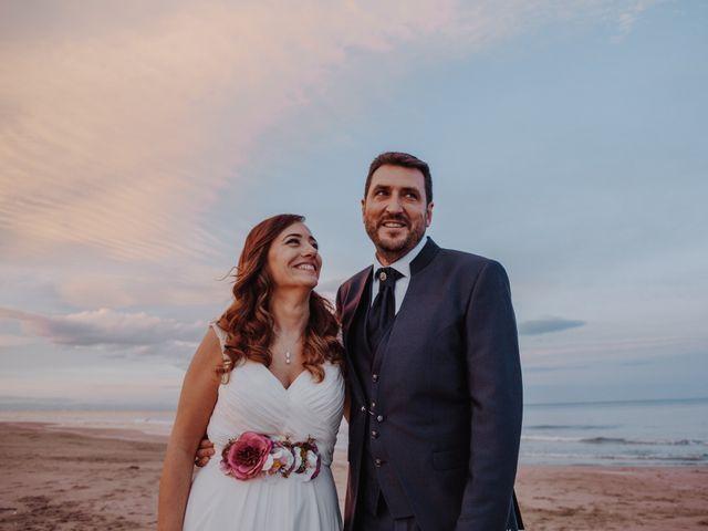 La boda de Román y María José en Mareny Blau, Valencia 2