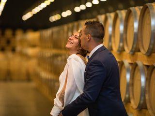 La boda de César y Claudia