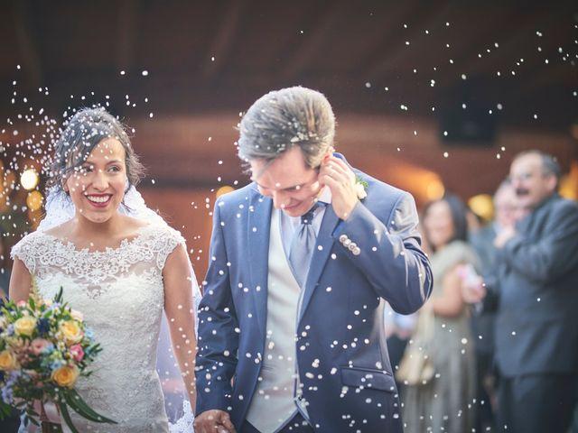 La boda de geraldine y Luis