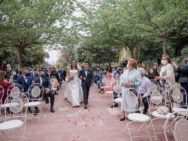La boda de Esther y Adrià en L' Ametlla Del Valles, Barcelona 59