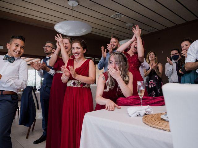La boda de Esther y Adrià en L' Ametlla Del Valles, Barcelona 111