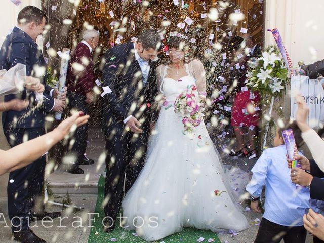 La boda de Mónica y Carlos en Alhaurin El Grande, Málaga 13