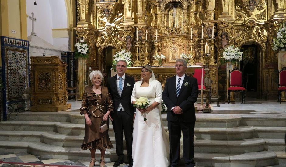 La boda de Vicente y Sinthya en Espartinas, Sevilla