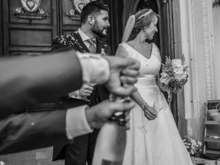 La boda de Caridad y Alfonso
