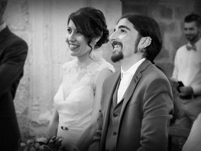 La boda de Lluís y Alba en Villalibado, Burgos 1