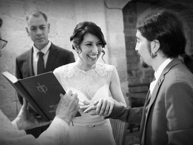 La boda de Lluís y Alba en Villalibado, Burgos 8