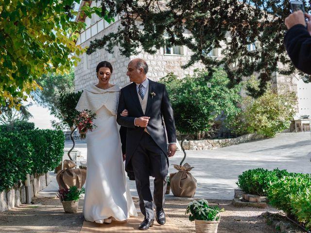 La boda de Javi y Diana en Hoyo De Manzanares, Madrid 12