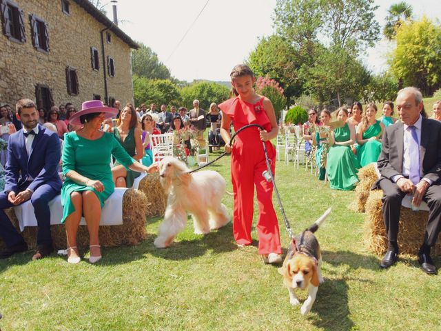 La boda de Carlos y Amaia en Ventas De Armentia, Burgos 63
