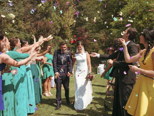 La boda de Carlos y Amaia en Ventas De Armentia, Burgos 77