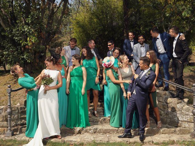 La boda de Carlos y Amaia en Ventas De Armentia, Burgos 103