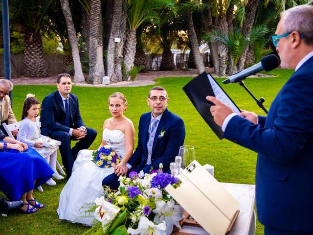 La boda de Domingo y Mar en Benidorm, Alicante 20