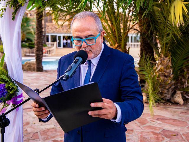 La boda de Domingo y Mar en Benidorm, Alicante 22
