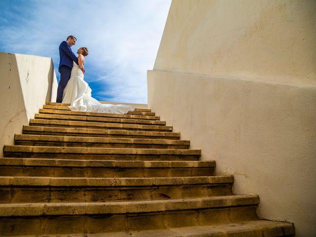La boda de Domingo y Mar en Benidorm, Alicante 1