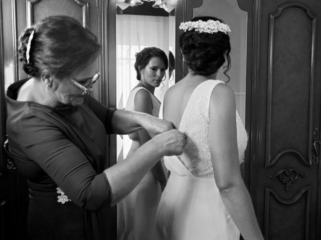 La boda de José Andrés y Inma en Nogales, Badajoz 37