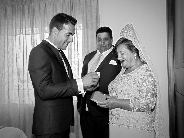 La boda de José Andrés y Inma en Nogales, Badajoz 48