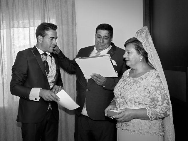 La boda de José Andrés y Inma en Nogales, Badajoz 51