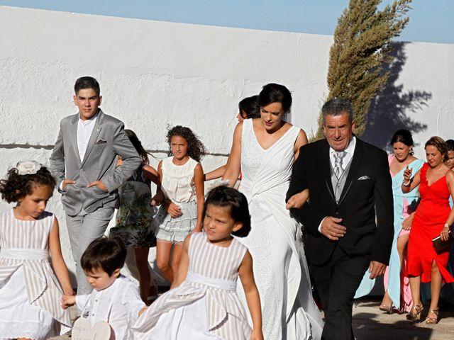 La boda de José Andrés y Inma en Nogales, Badajoz 67