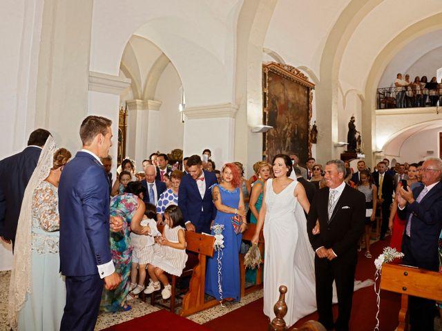 La boda de José Andrés y Inma en Nogales, Badajoz 72