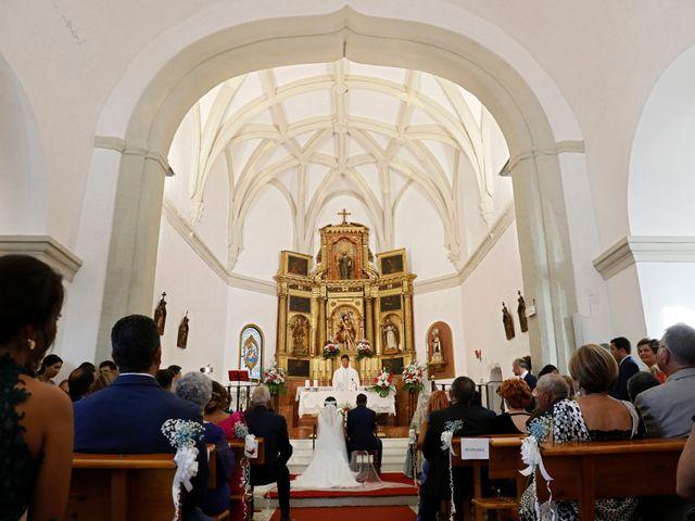 La boda de José Andrés y Inma en Nogales, Badajoz 78