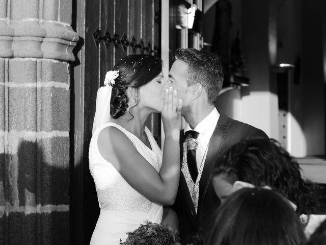 La boda de José Andrés y Inma en Nogales, Badajoz 90