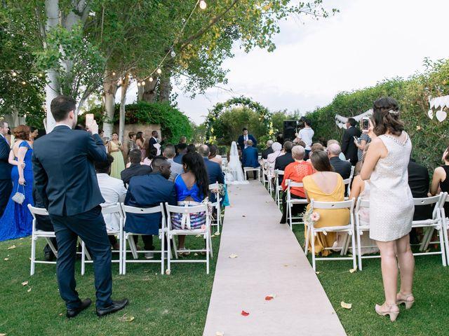 La boda de Javier y Josefa en El Molar, Madrid 28