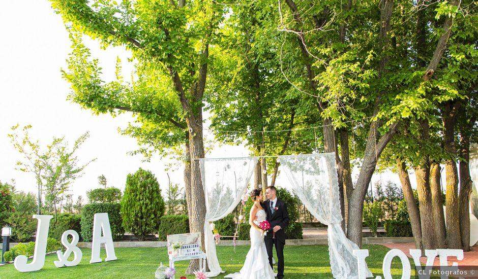 La boda de Jero y Ana en Cubas De La Sagra, Madrid