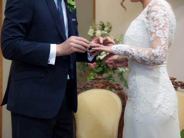La boda de Ewan y Olalla en Ribadavia, Orense 13