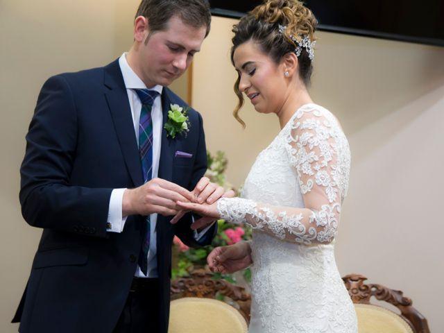 La boda de Ewan y Olalla en Ribadavia, Orense 14