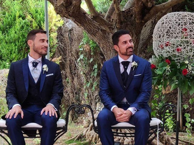 La boda de Santi y Fran